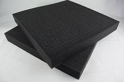 2 x Pick and Pluck Grid Foam Inserts 40x40x5cm - Pick 'N' Pluck
