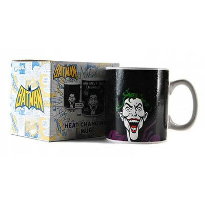DC Comics Batman The Joker 400ml Heat Changing Mug (Boxed) NEW