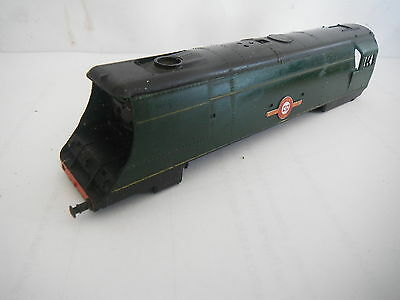 TRIANG TT 35028 CLAN LINE LOCO BODY BR GREEN bulleid merchant navy NO NUMBERS