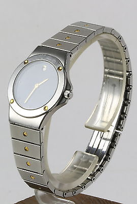 Zenith Pacific Damenuhr ladies watch Quartz Swiss Made Datum date Stahl/Gold