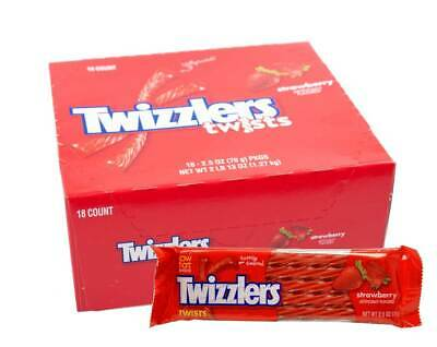 18er Karton Twizzlers Twists, Strawberry 1,27kg