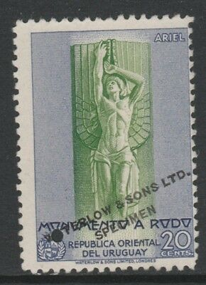 Uruguay 4881- 1948 Monument to RODO 20c PRINTER's SAMPLE