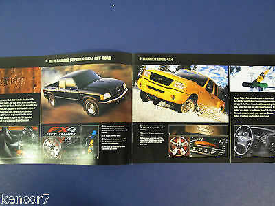 2002 Ford Trucks Full Line Sales Brochure C7802