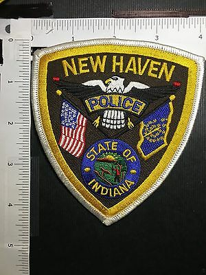 New Haven  Indiana Police  Shoulder  Patch