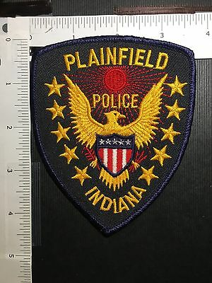 Plainfield  Indiana Police  Shoulder  Patch