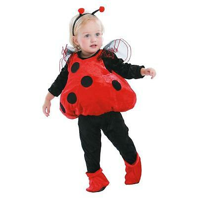 New Infant Kids Totally Ghoul Ladybug Halloween Costume Vest Size 1-2 Years
