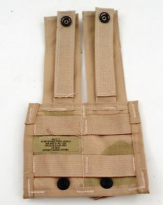 NOS Specialty Defense US Military USGI Molle II 40mm Double Grenade Desert Pouch