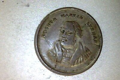 Vintage Reformation 1817 Martin Luther, Calw Germany  medal 25mm