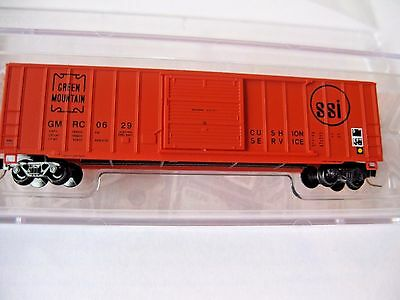 Micro-Trains #51000380 Green Mountain 50' Rib Side Box Car #0629 Z-Scale