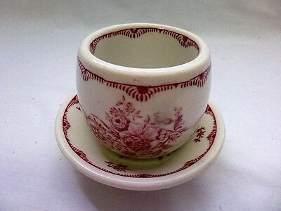 Vintage Homer Laughlin Town Walker Custard Cup & Saucer 1971