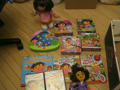 Dora The Explorer We Did It Dancing Dora Doll Plus Books, Dvd's, Puzzles And Mor