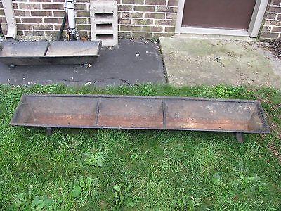 "ANTIQUE CAST IRON HOG TROUGH 64"" Long"