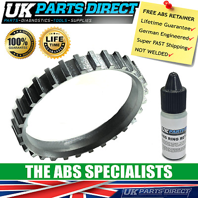 Fits Corsa Mk2 1.8 Petrol 2x ABS Reluctor Rings Front #1
