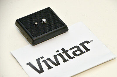 Quick Release Plate for Vivitar VPT120 Tripod model 654828 (hard to find)