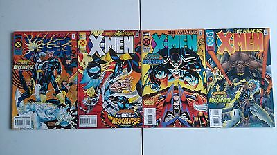 The Amazing X Men issues 1 to 4 - First Printing - Kubert - Age of Apocalypse
