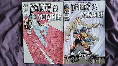 Wolverine & Deathblow - Image Marvel Comics 2 issue crossover