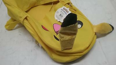 Pokemon Pikachu 3D Back to School Rolling Backpack - Anime Character Book Bag
