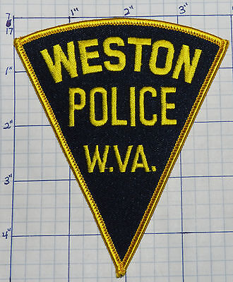 West Virginia, Weston Police Dept Triangle Patch