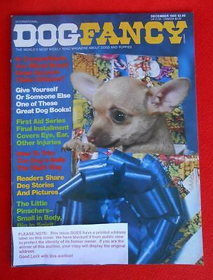 RARE Collectible ~ MINIATURE PINSCHER Issue ~ DOG FANCY Magazine ~ December 1983