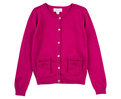 Carly Rose Cardigan - Cerise