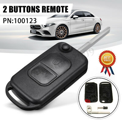 For Mercedes+Benz  A C E S slk class MB REMOTE FLIP KEY FOB CASE 2 Buttons New