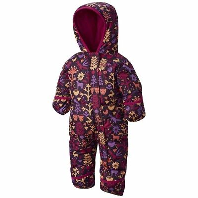 Columbia Snuggly Bunny Bunting Youth Monos