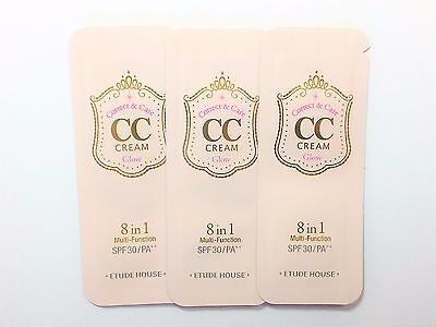 ETUDE HOUSE Correct & Care CC Cream Glow (3 samples)