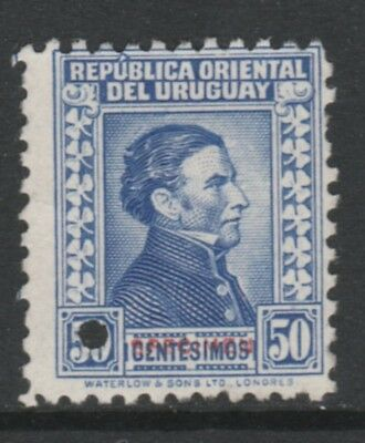 Uruguay 4907 - 1928  ARTIGAS 50c PRINTER's SAMPLE