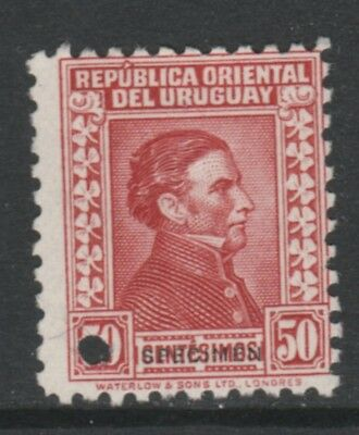 Uruguay 4908 - 1928  ARTIGAS 50c PRINTER's SAMPLE