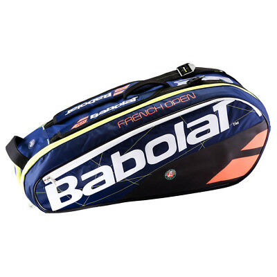 Babolat Racquet Holder Pure Rg French Open 6 Racquets Blue   Red