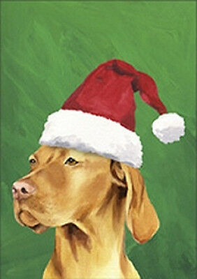 Large Indoor/Outdoor Christmas Flag BVV - Vizsla 27052