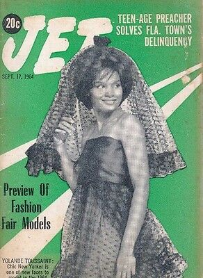 Jet Magazine 9/17/1964 Teen-Age Preacher James Rogers Solves Florida Delinquency