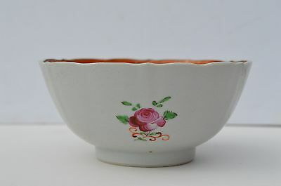 Fantastic Antique Hand Painted 18Th Century Chinese Export Porcelain Rice Bowl