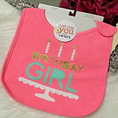 Birthday Girl Bib Just One You By Carters For Target One Size