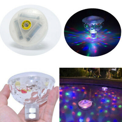 Hot LED Underwater Floating Disco RGB Party Light Show Pool Pond Spa Tub Bulb
