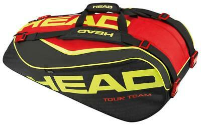 Head Extreme 9r Supercombi 9 rackets Black   Red