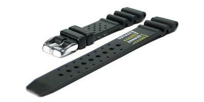 Chris Benz Rubber Strap For One Man 200m 20 mm Black