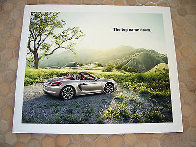 Porsche Official Boxster / S Promotional Targeted Mailer Sales Brochure 2012