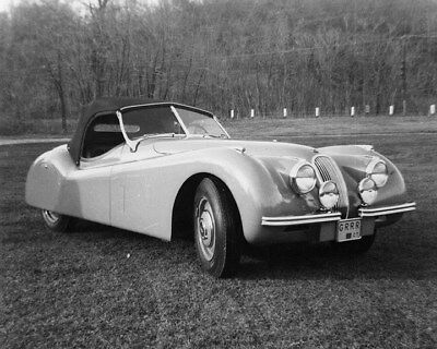 1951 Jaguar XK120 Roadster Factory Photo ca8271