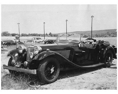 1934 1935 Jaguar SS1 Tourer Factpry Photo ca8272