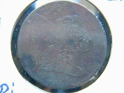 1794 Liberty Cap Flowing Hair Large Cent Corroded Damaged