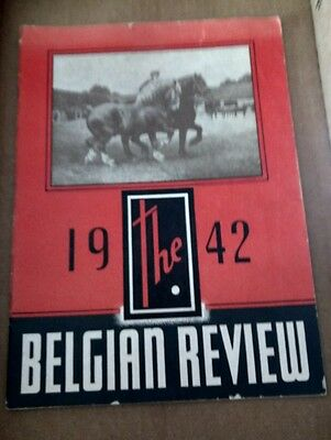 1942 The Belgian (Horse) Review ~ Vgvc