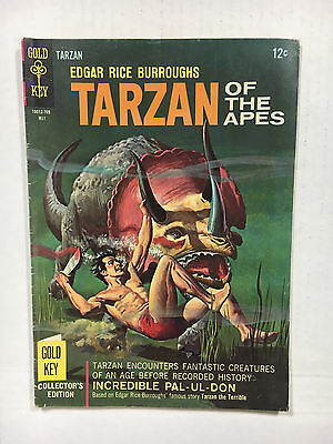 Tarzan #167  F+ Gold key comic 1967 painted cover
