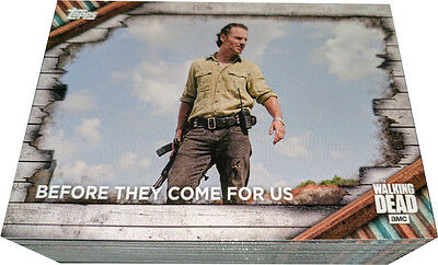 Walking Dead Season 6 Complete 100 Card Base Set