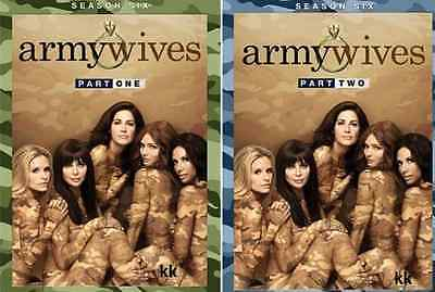 Army Wives Complete Season 6 Series Parts 1 + 2 New DVD Region 4