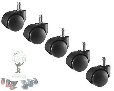 5 x 50mm Replacement Hairdressing Trolley Wheel Castors