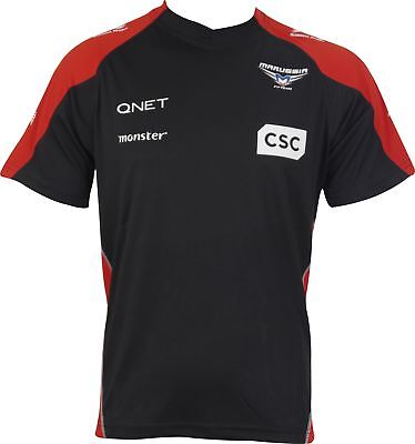 Marussia F1 Team Race Sponsor Mens Short Sleeve Top - Black