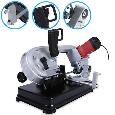 230V 680W Metal Wood Cutting Band Mitre Saw Cutter Sawing Bench Table Machine