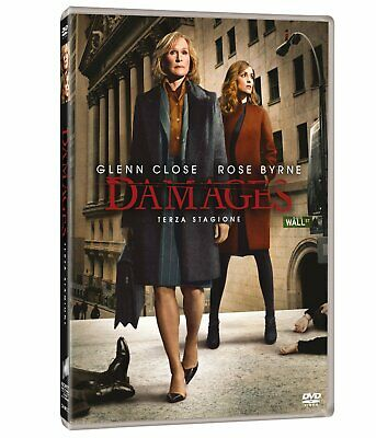 Damages - Stagione 03  3 Dvd  Cofanetto  Serie-Tv