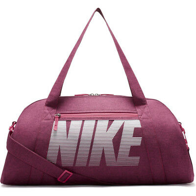 Ladies Womens Nike Purple Pink Gym Club Training Duffel Bag 30L